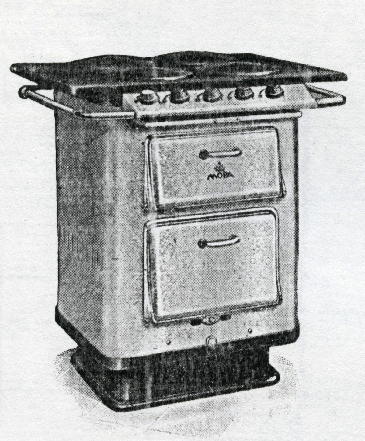 1936_Plynový sporák MORA SUPER