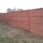 Cihlový plot