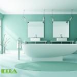 Koupelna - 2x zrcadlo EXCELENT+ 400W