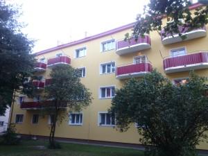 Nové balkony v Konzumní ulici 620, Praha