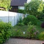 Oplocení zahrady.