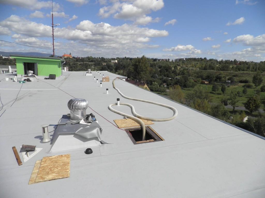 zateplení střech