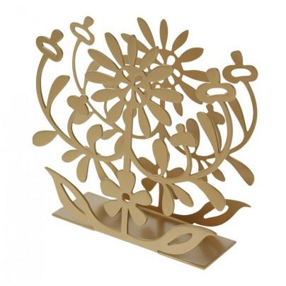 drzak-ubrousku-floral-metallic