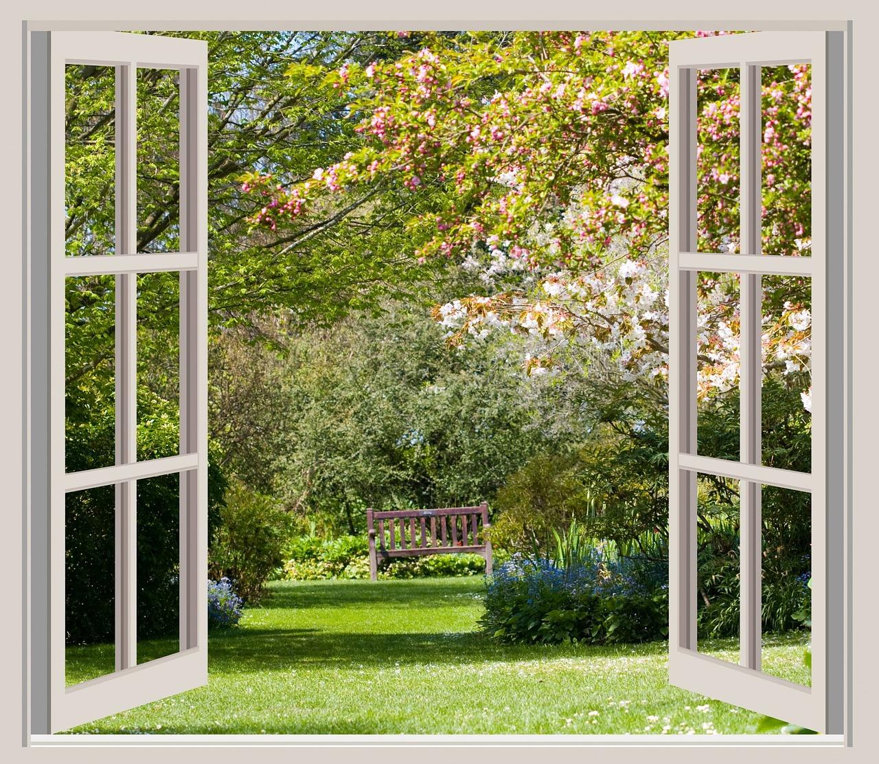 otevřené okno