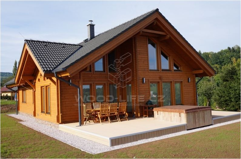 srubový dům